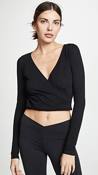 Live The Process WRAP TOP
