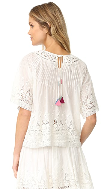 LOVESHACKFANCY Ina Top