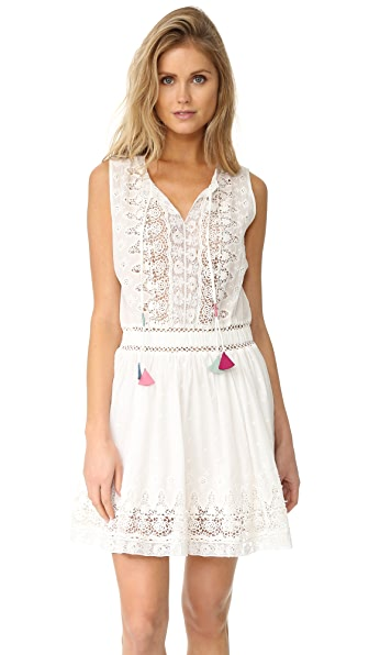 LOVESHACKFANCY Nina Dress - Ivory