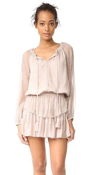 LOVESHACKFANCY Popover Dress - Sand