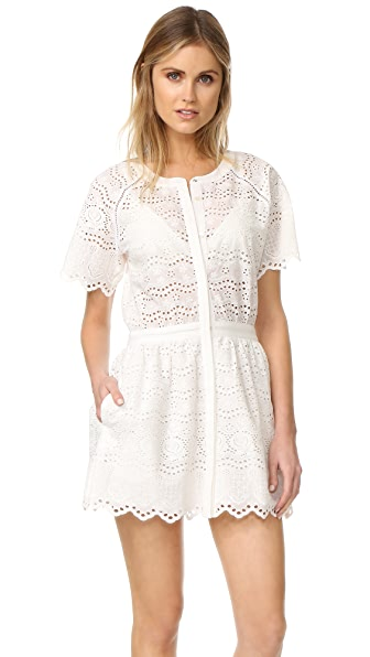 LOVESHACKFANCY Charlie Dress - White