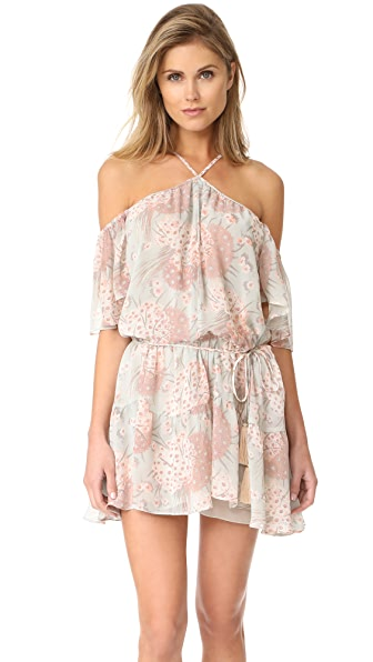 LOVESHACKFANCY Amira Silk Dress