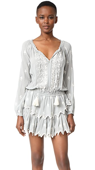 LOVESHACKFANCY Popover Ruffle Dress