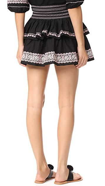 LOVESHACKFANCY Lourdes Skirt