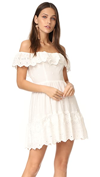 LOVESHACKFANCY Iggy Dress - Ivory