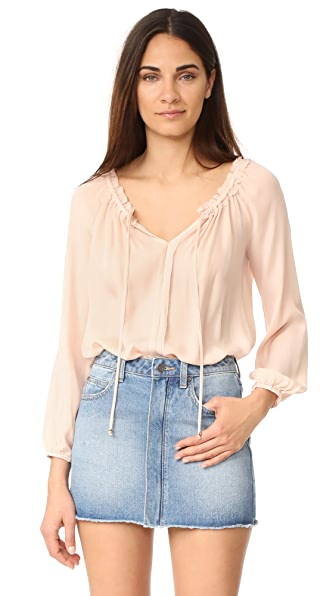 LOVESHACKFANCY Michelle Blouse