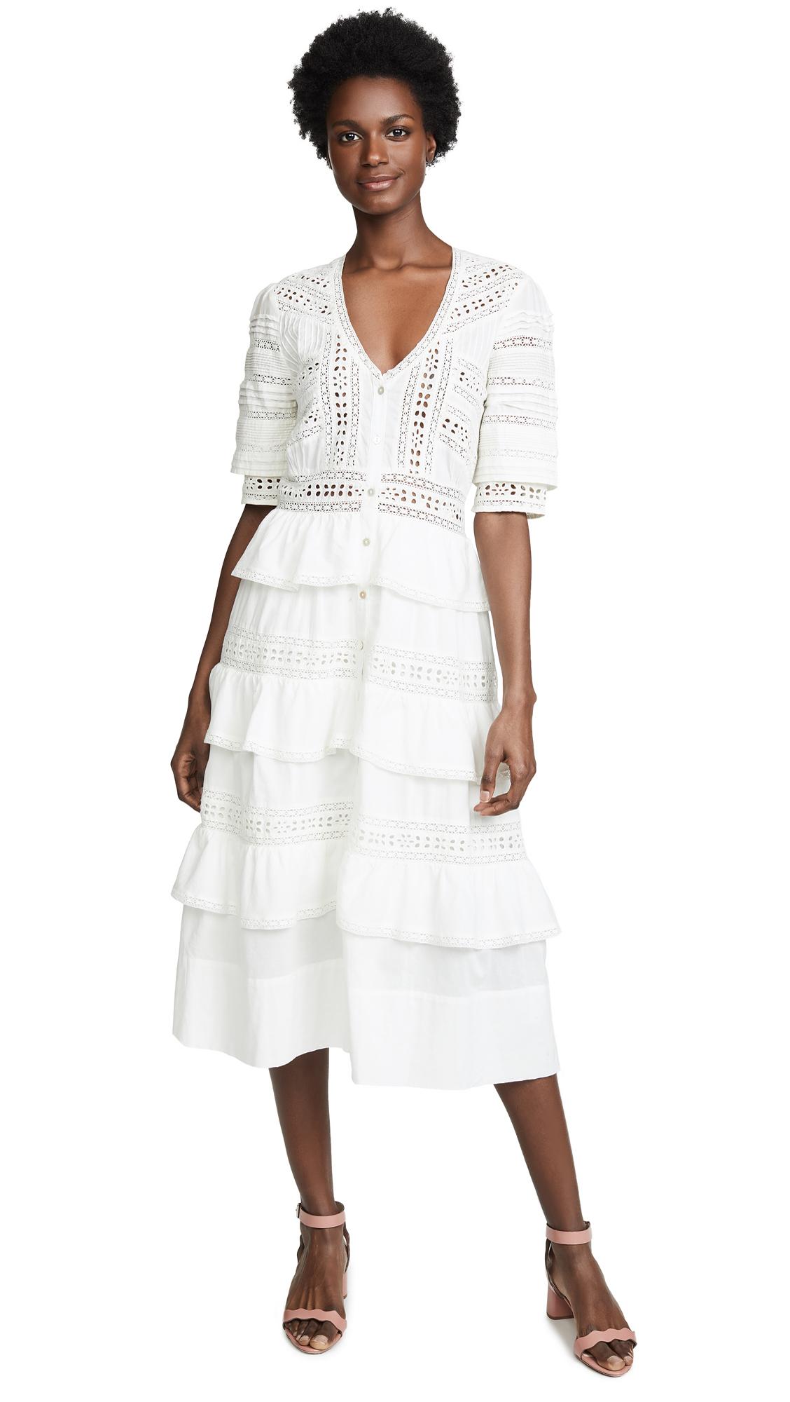 Buy LOVESHACKFANCY online - photo of LOVESHACKFANCY Rebecca Dress