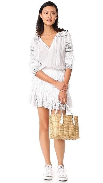 LOVESHACKFANCY Prairie Popover Dress