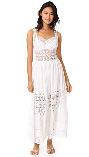 LOVESHACKFANCY Francesca Dress - White