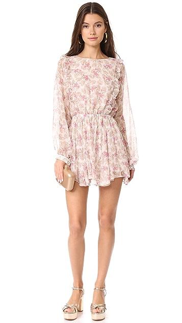 LOVESHACKFANCY Ruffle Noelle Dress