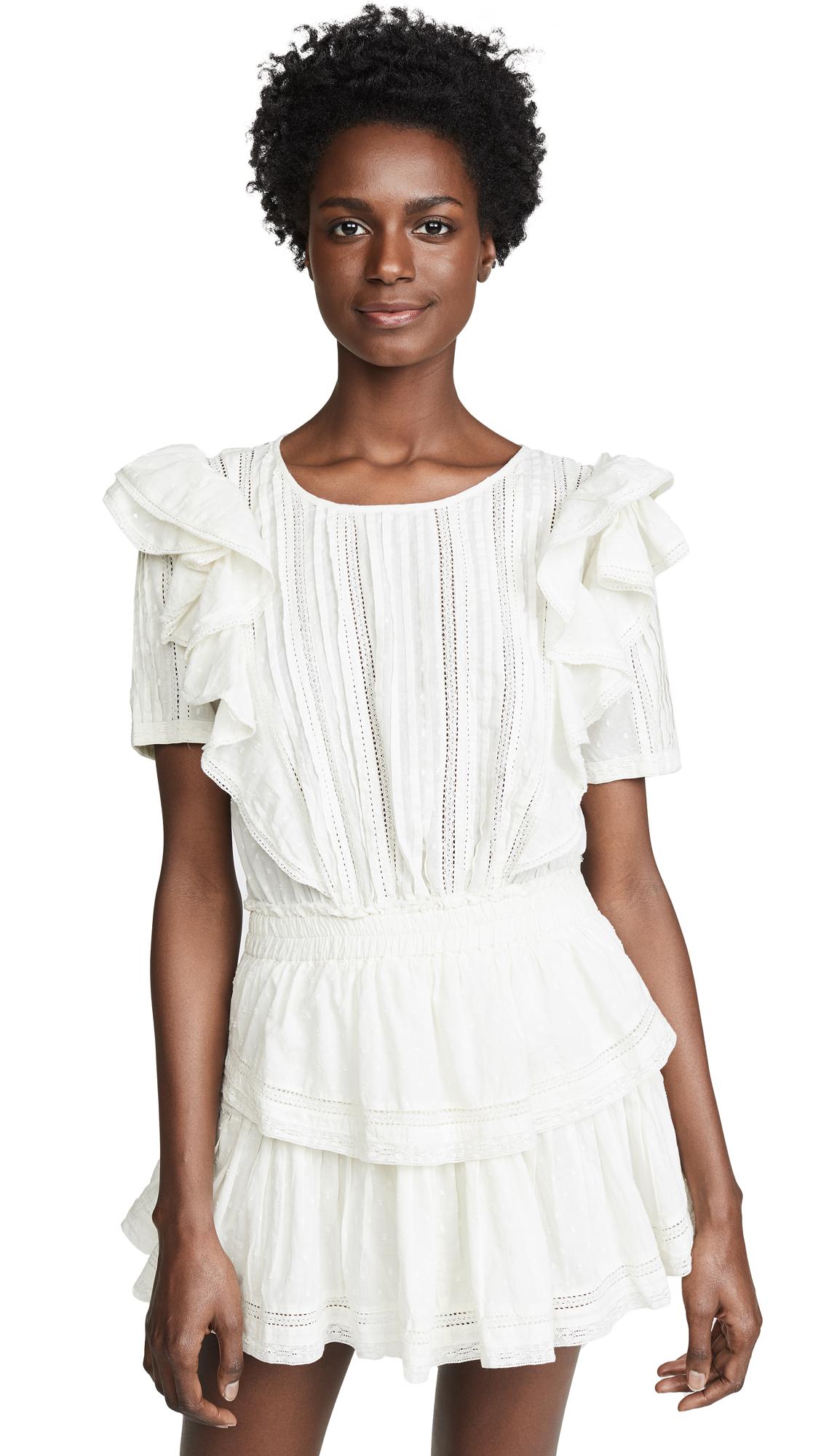 LOVESHACKFANCY Natasha Dress - White