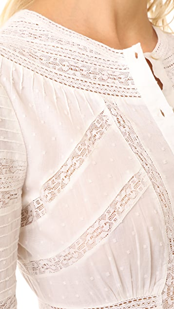 LOVESHACKFANCY Victorian Maxi Dress
