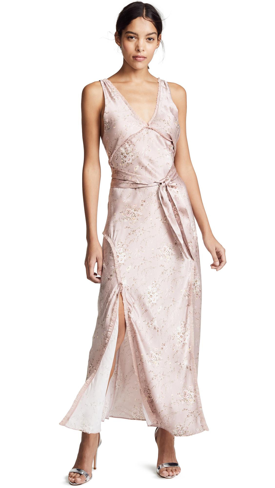 LOVESHACKFANCY Kendall Dress - Woodrose