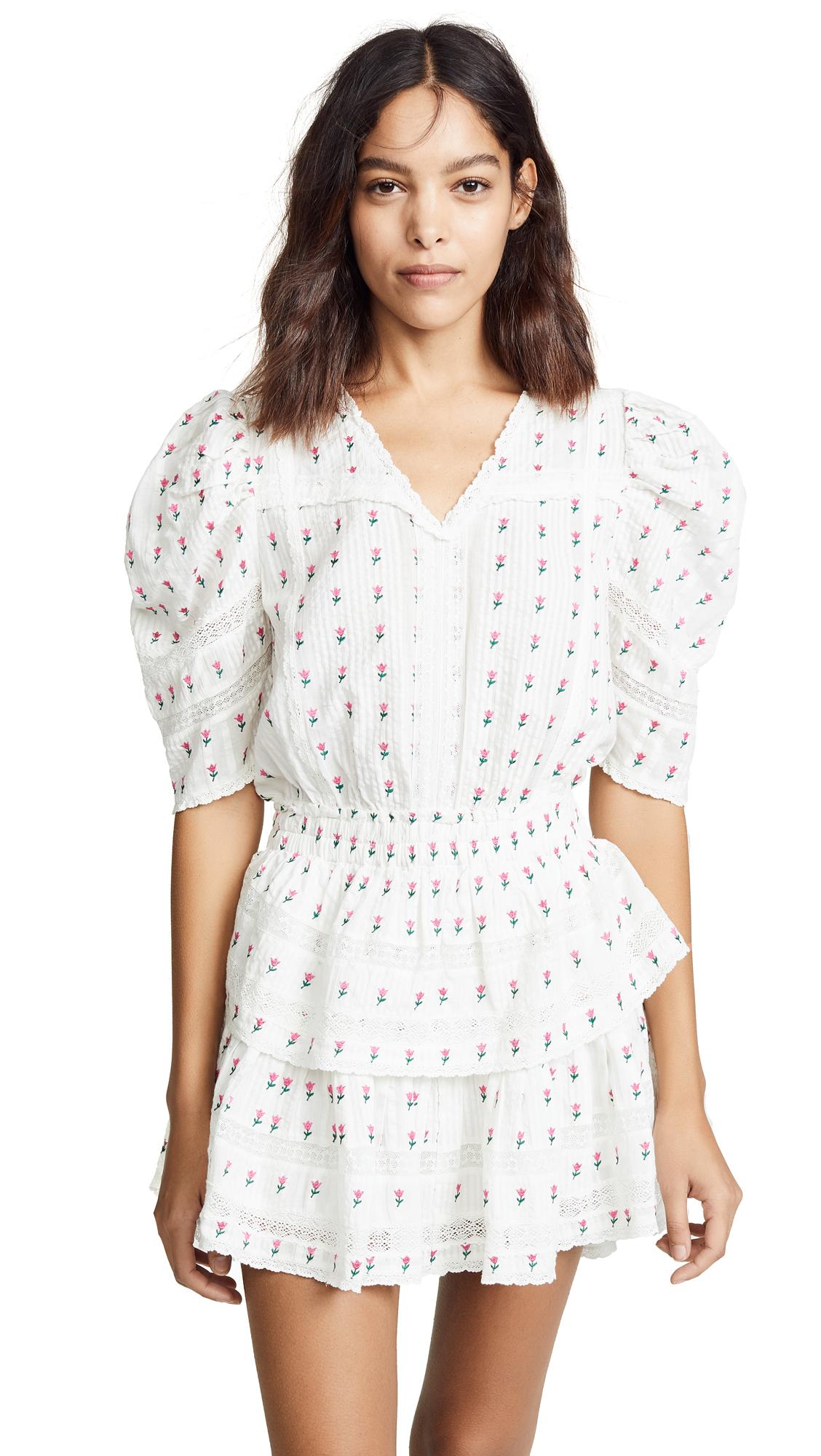 LOVESHACKFANCY Marissa Dress - Garden Multi