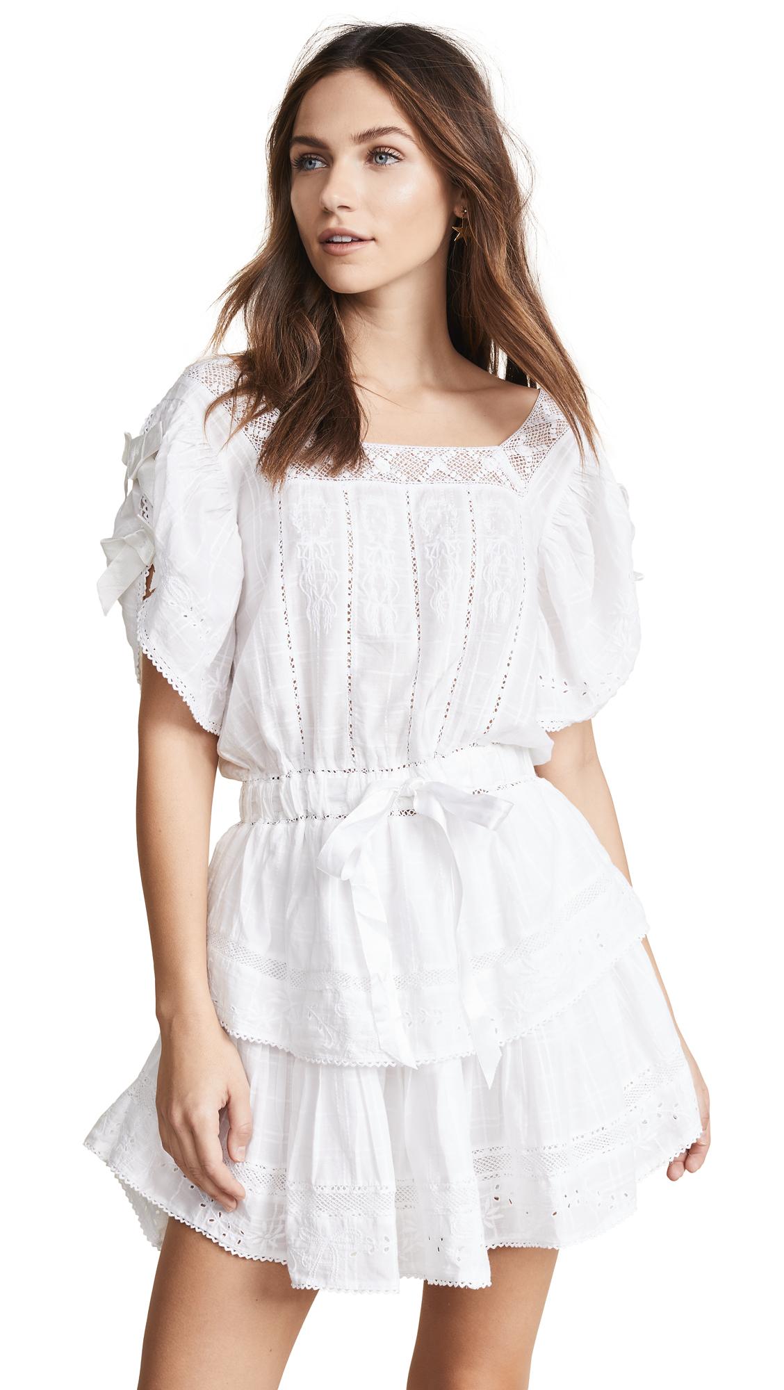 LOVESHACKFANCY Dorothy Dress - White