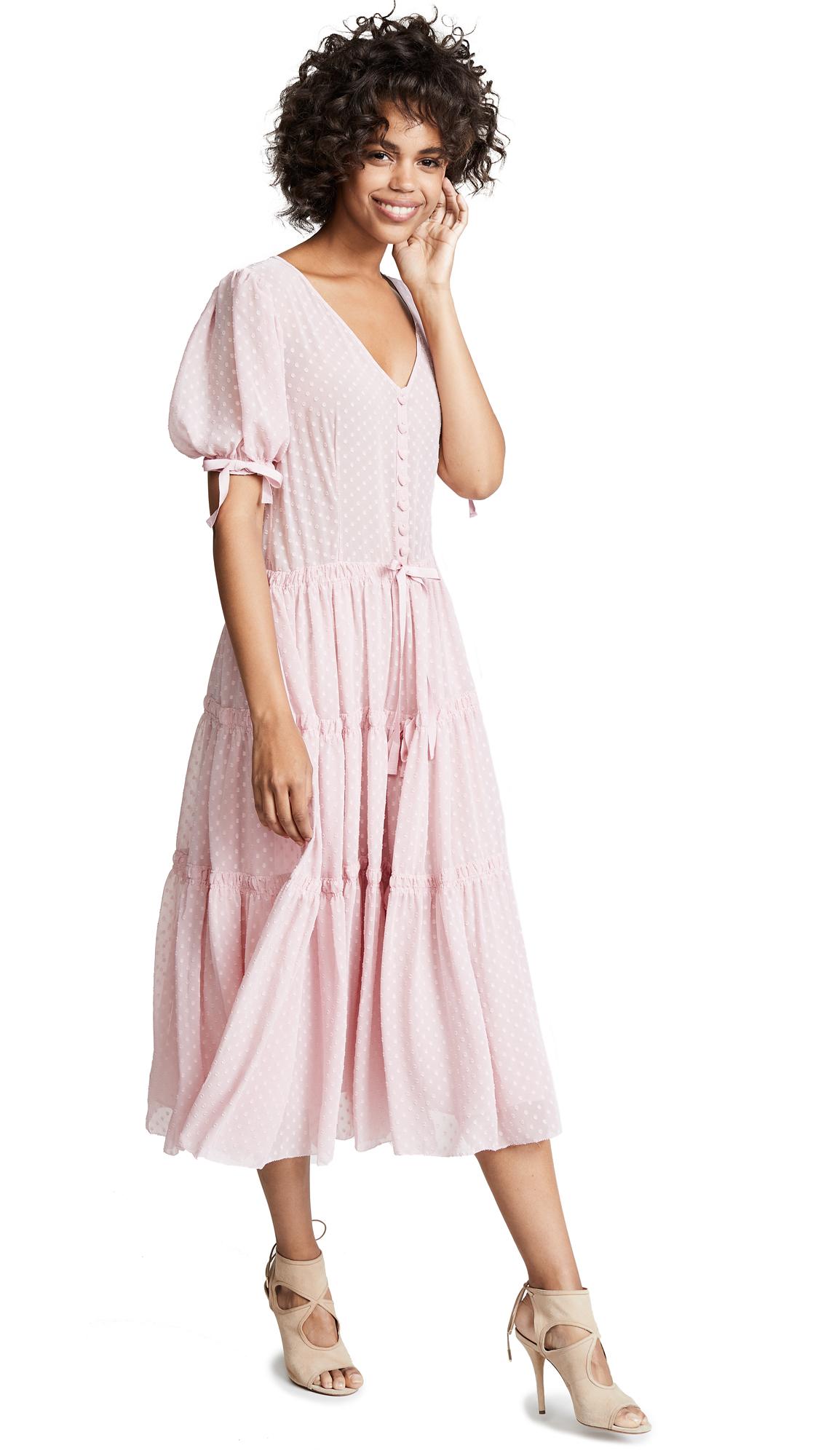 LOVESHACKFANCY Serena Dress - Eros