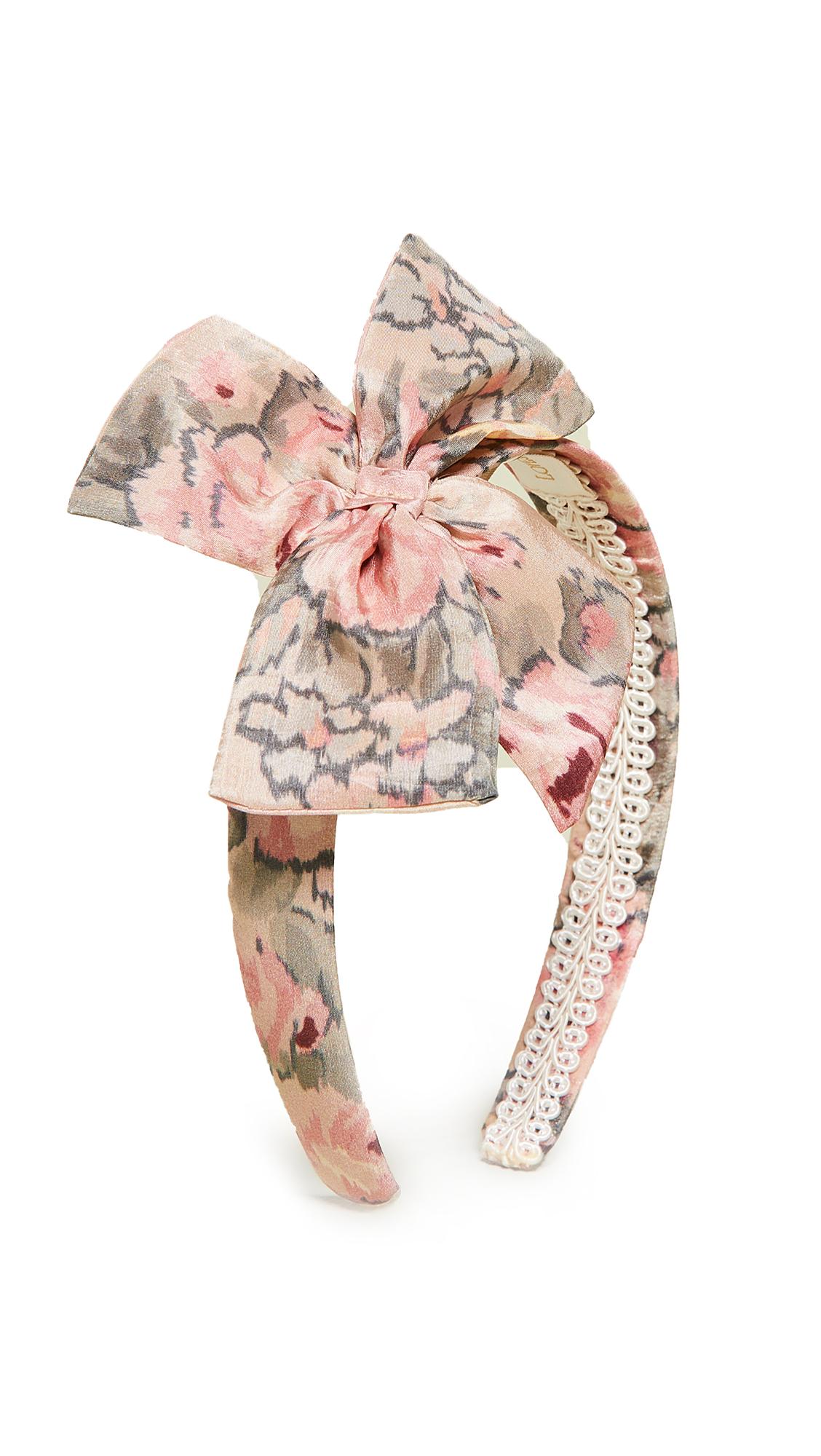LOVESHACKFANCY Yasmine Headband - Ribbon