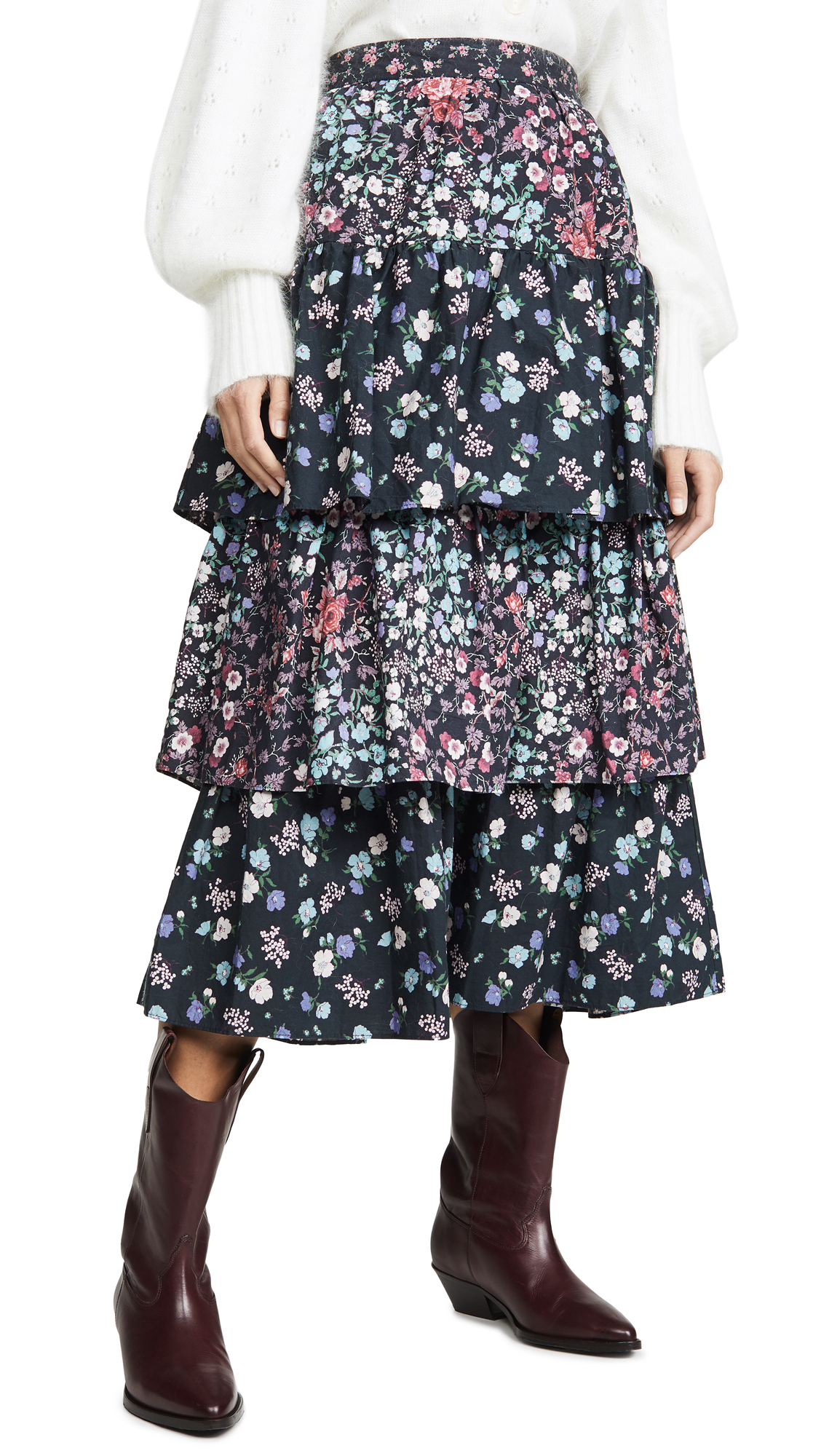 Buy LOVESHACKFANCY online - photo of LOVESHACKFANCY Iggy Skirt