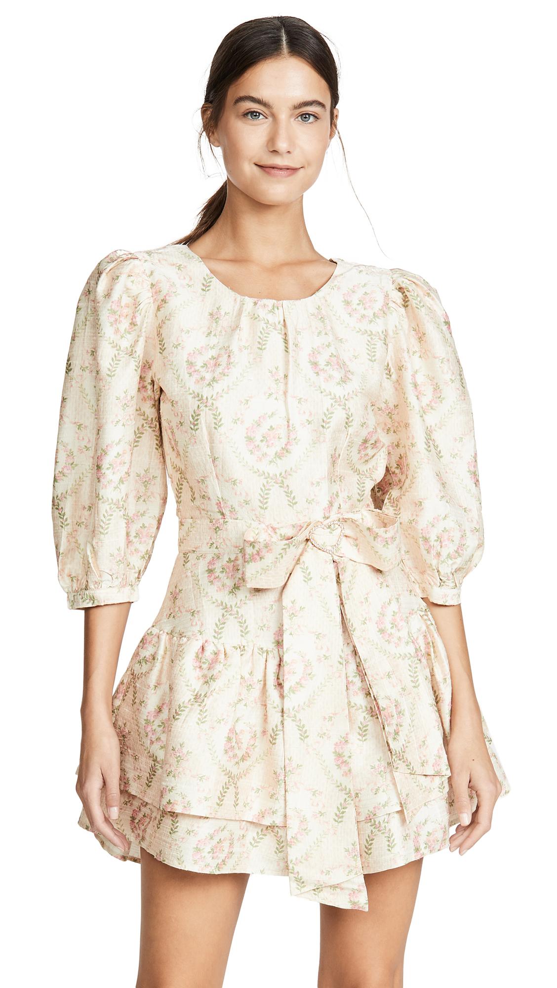 Buy LOVESHACKFANCY online - photo of LOVESHACKFANCY Pearla Dress