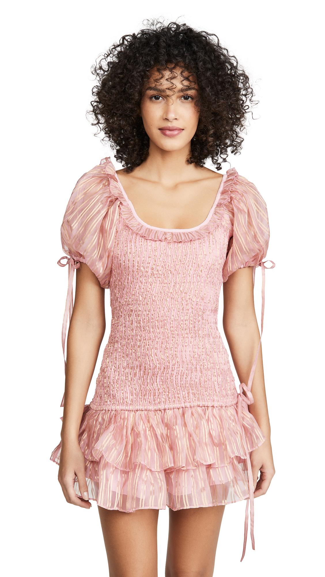 Buy LOVESHACKFANCY online - photo of LOVESHACKFANCY Violet Dress