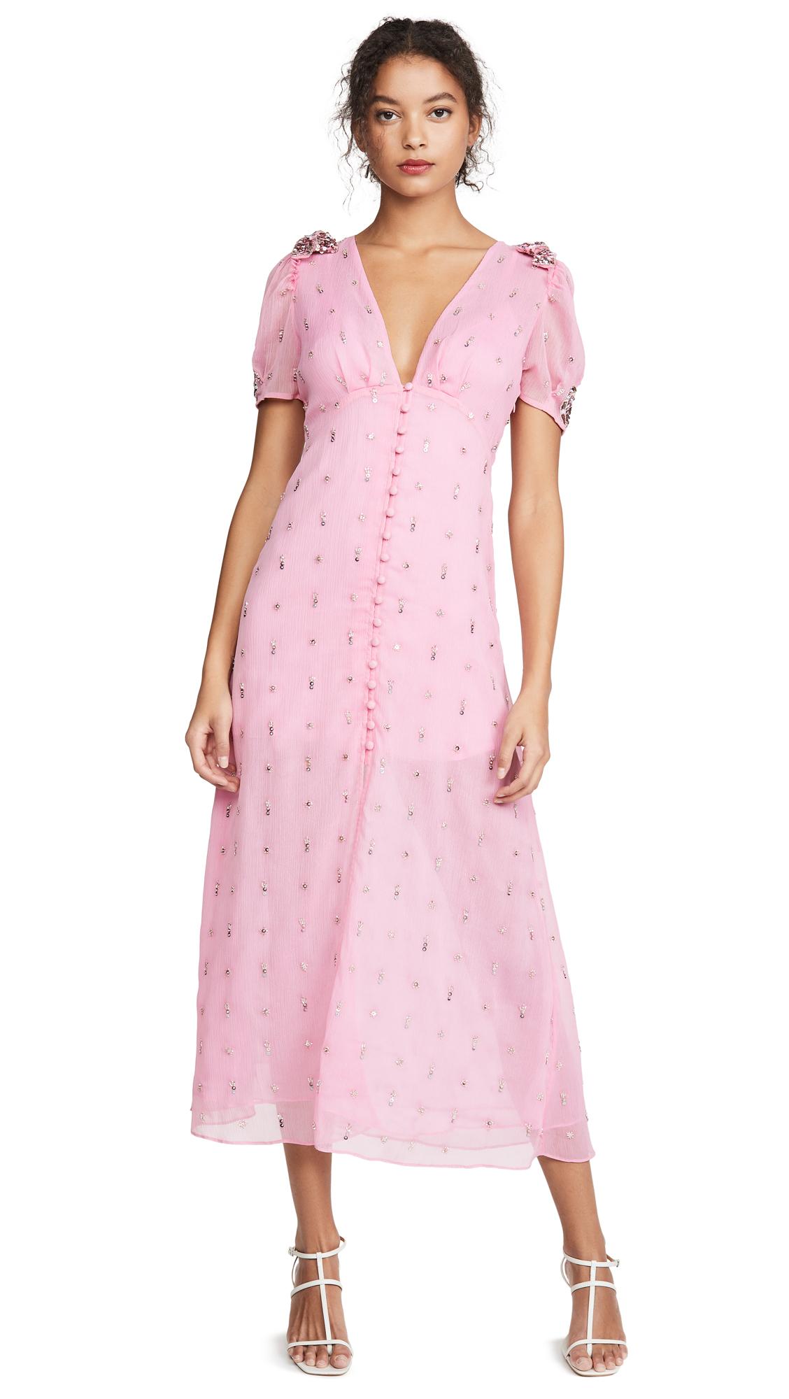 Buy LOVESHACKFANCY online - photo of LOVESHACKFANCY Delaney Dress