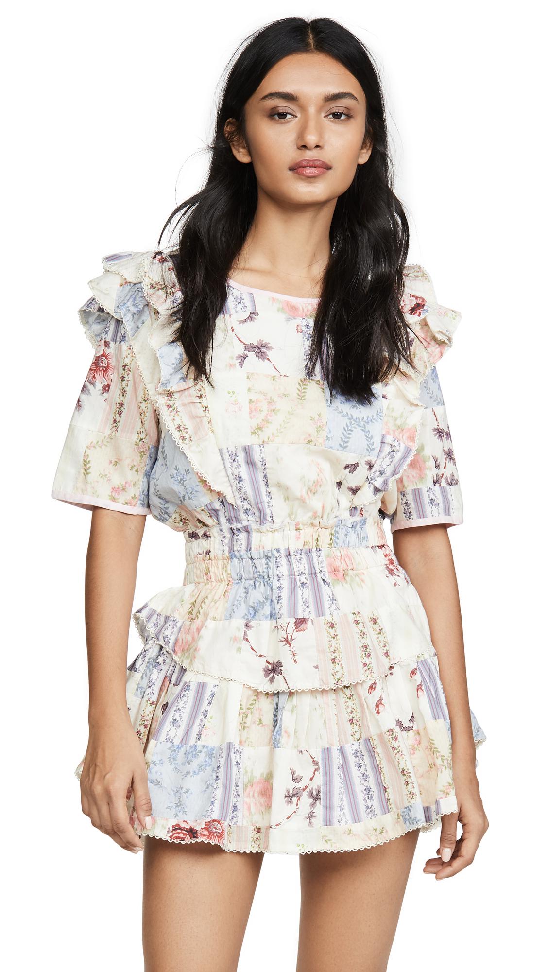 Buy LOVESHACKFANCY online - photo of LOVESHACKFANCY Natasha Dress