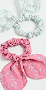 LOVESHACKFANCY Gauze Swim Scrunchies