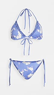 LOVESHACKFANCY Harbor Bikini Set