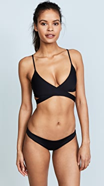 L*Space Sweet & Chic Chloe Wrap Bikini Top