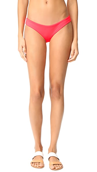 L*Space Sandy Bikini Bottoms In Hot Cherry