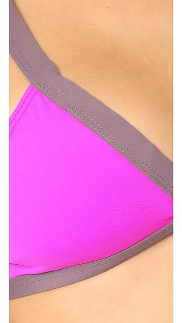 L*Space Colorblock Farrah Bikini Top