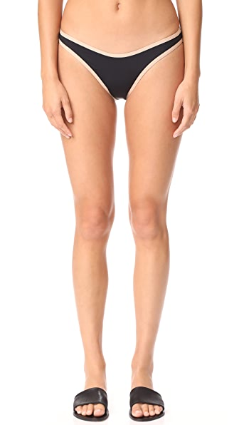 L*Space Whiplash Bottoms - Black/Skin