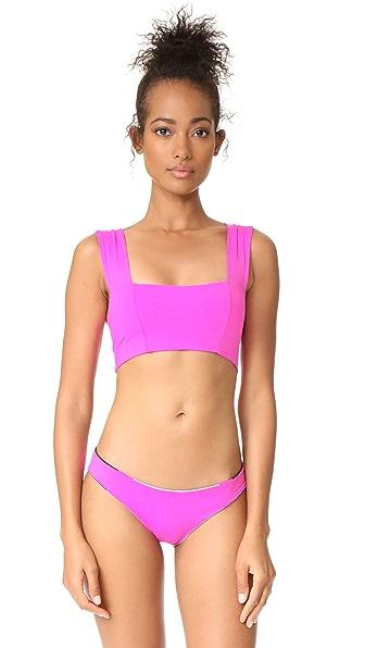 L*Space Parker Bikini Top - Bright Fuchsia