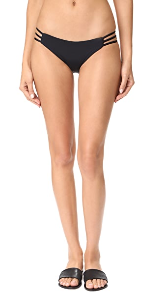 L*Space Kennedy Bikini Bottoms In Black