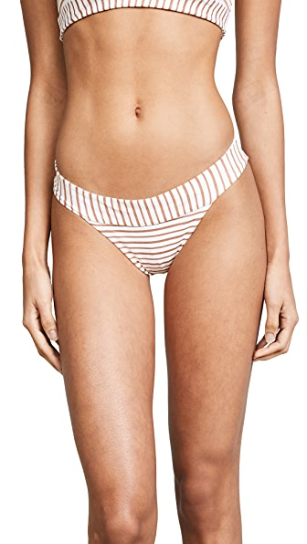L*Space Veronica Bitsy Bikini Bottoms In White