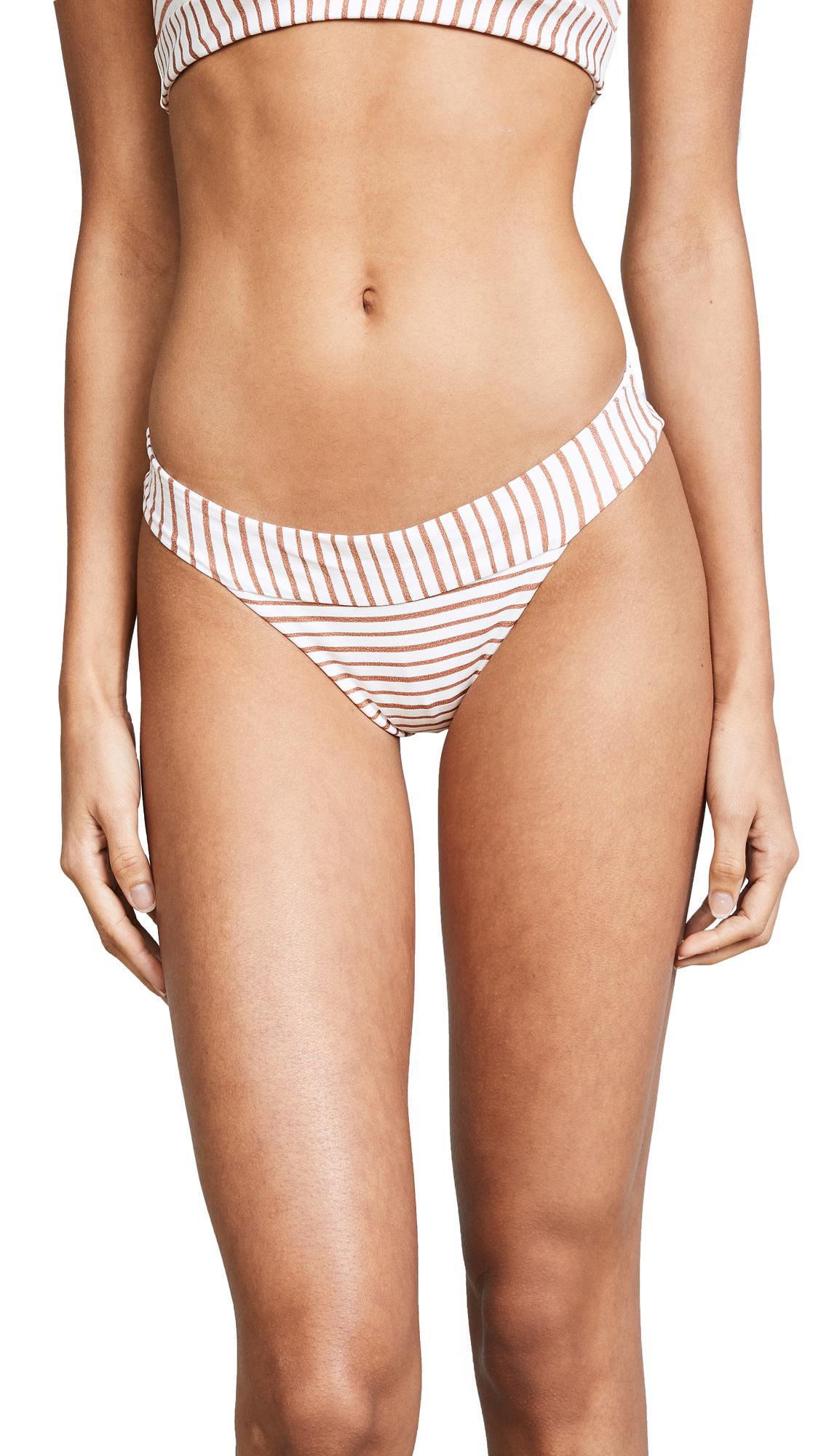L*Space Veronica Bitsy Bikini Bottoms In White