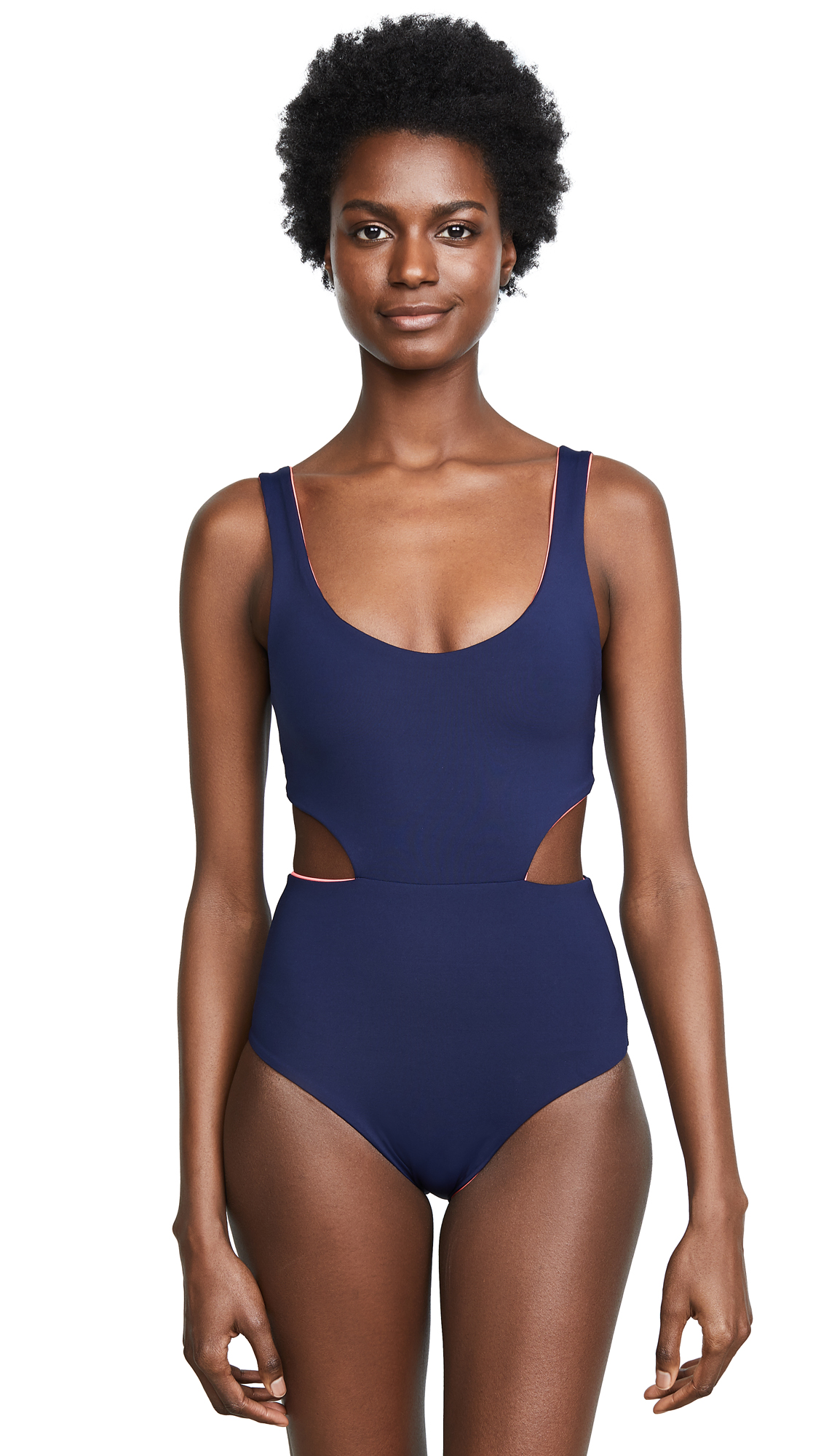 L*Space Rita Swimsuit In Midnight Pink