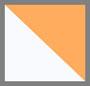 белый/синий/оранжевый