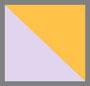 淡紫色/芒果黄色