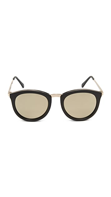 Le Specs No Smirking Sunglasses