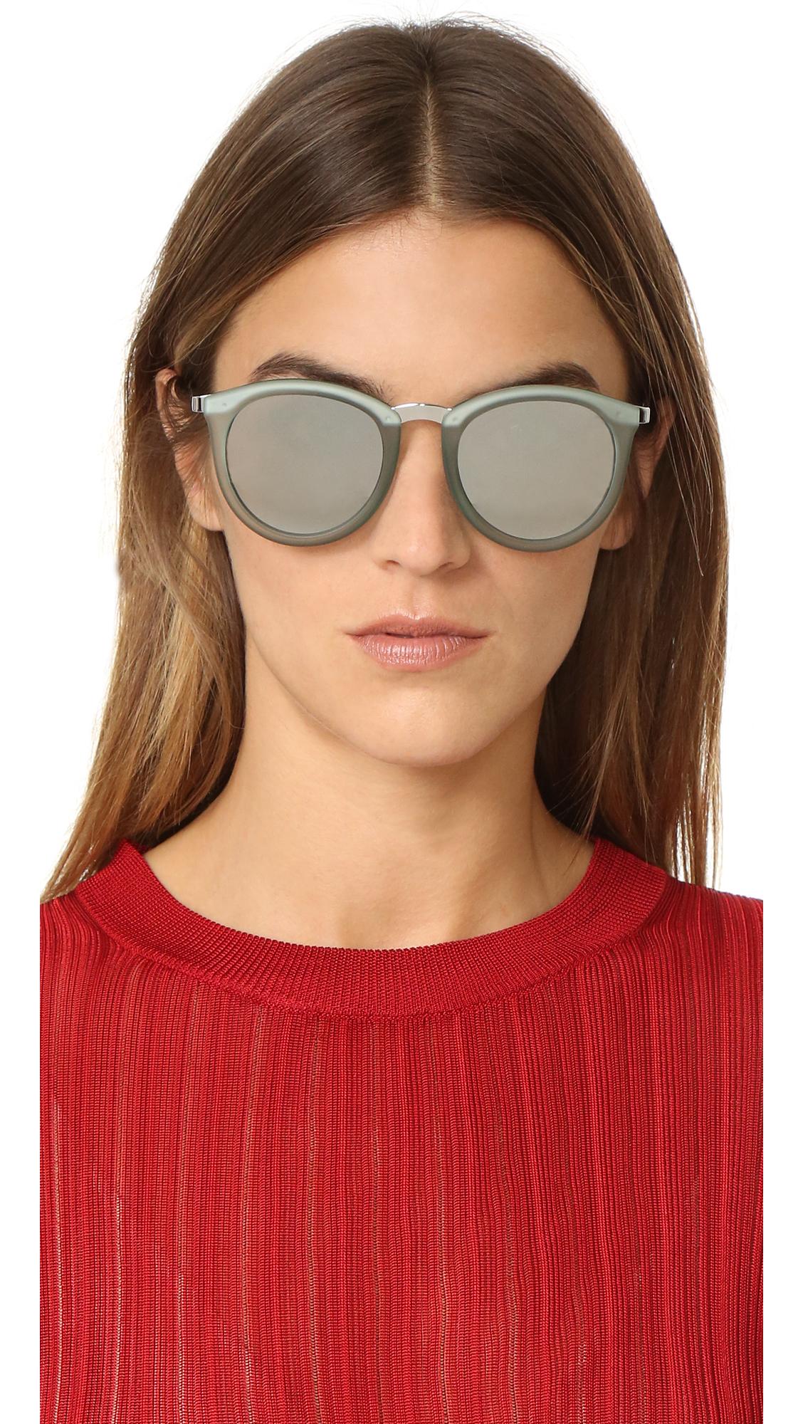 17e3702da4 Le Specs No Smirking Mirrored Sunglasses