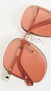 Le Specs Солнцезащитные очки Skyline