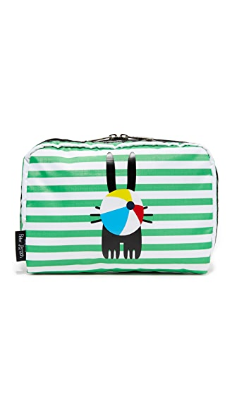 LeSportsac LeSportsac designed by Peter Jensen Extra Large Cosmetic Case
