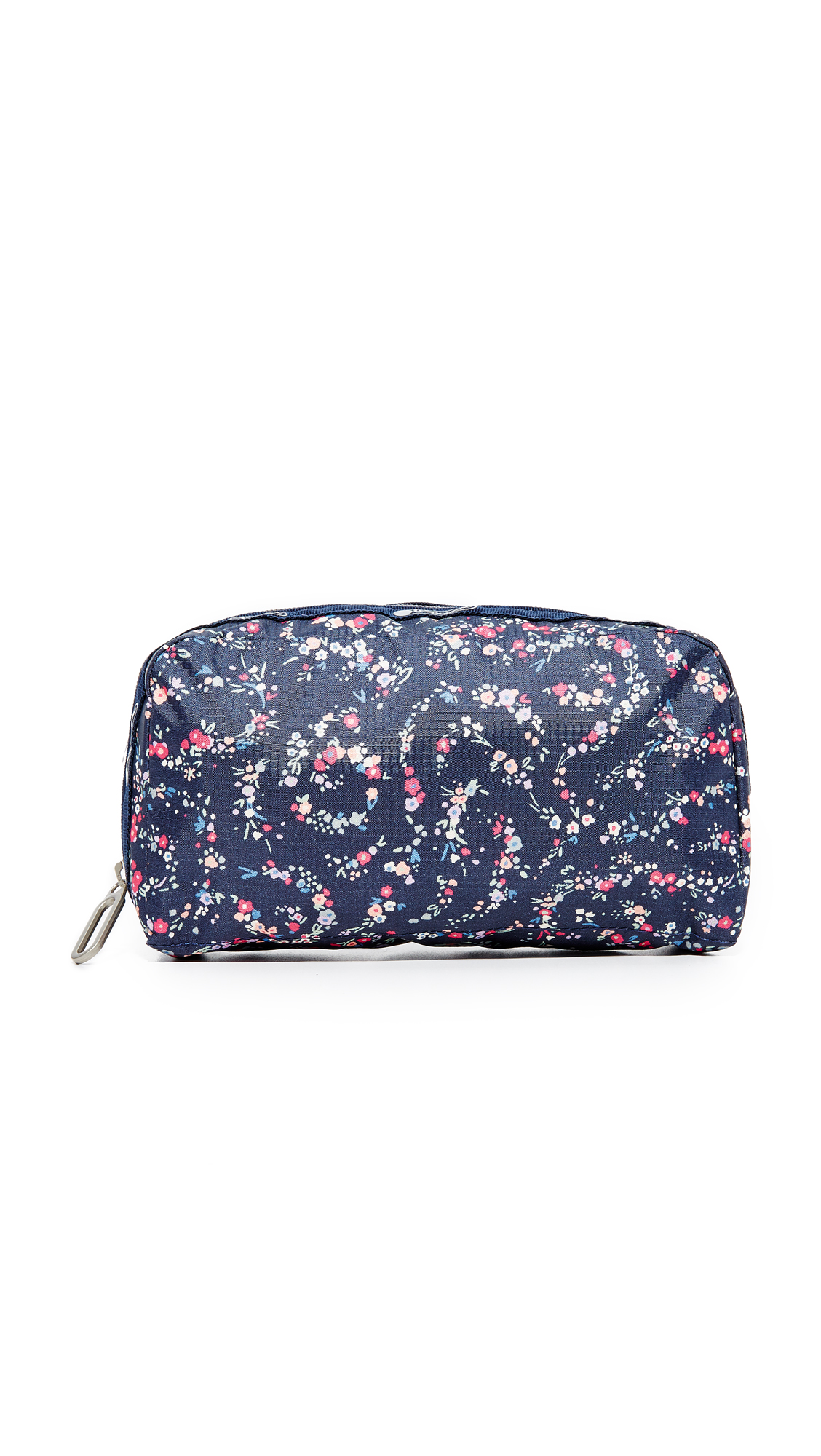 lesportsac female lesportsac essential cosmetic case fairy floral blue