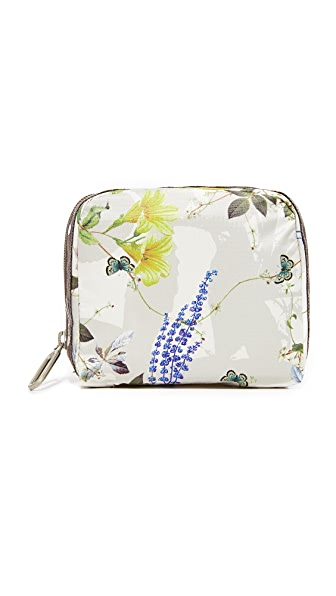 LeSportsac Square Essential Cosmetic Pouch