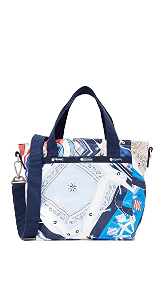 LeSportsac Mini Everyday Tote - Beach Scarf