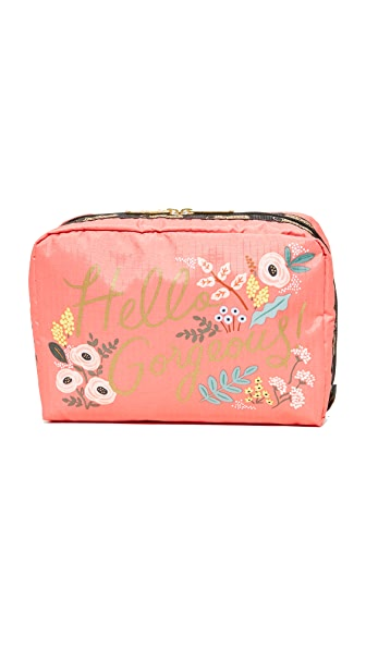 LeSportsac Extra Large Rectangular Cosmetic Case In Hello Gorgeous