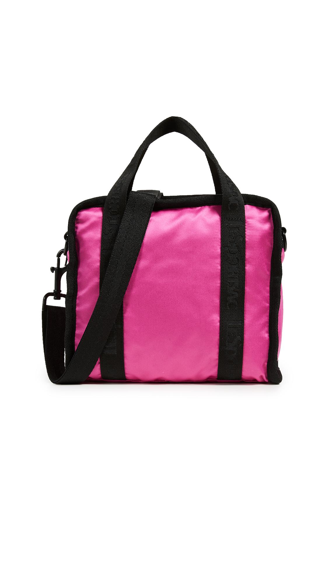 Gabrielle Small Box Crossbody Bag, Magenta