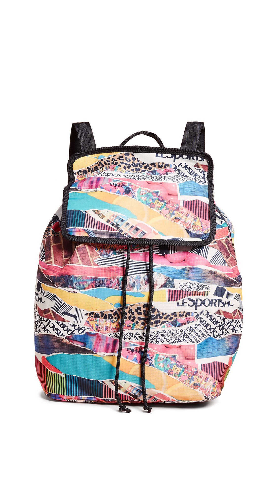 LESPORTSAC Gabrielle Backpack in Y2K Collage