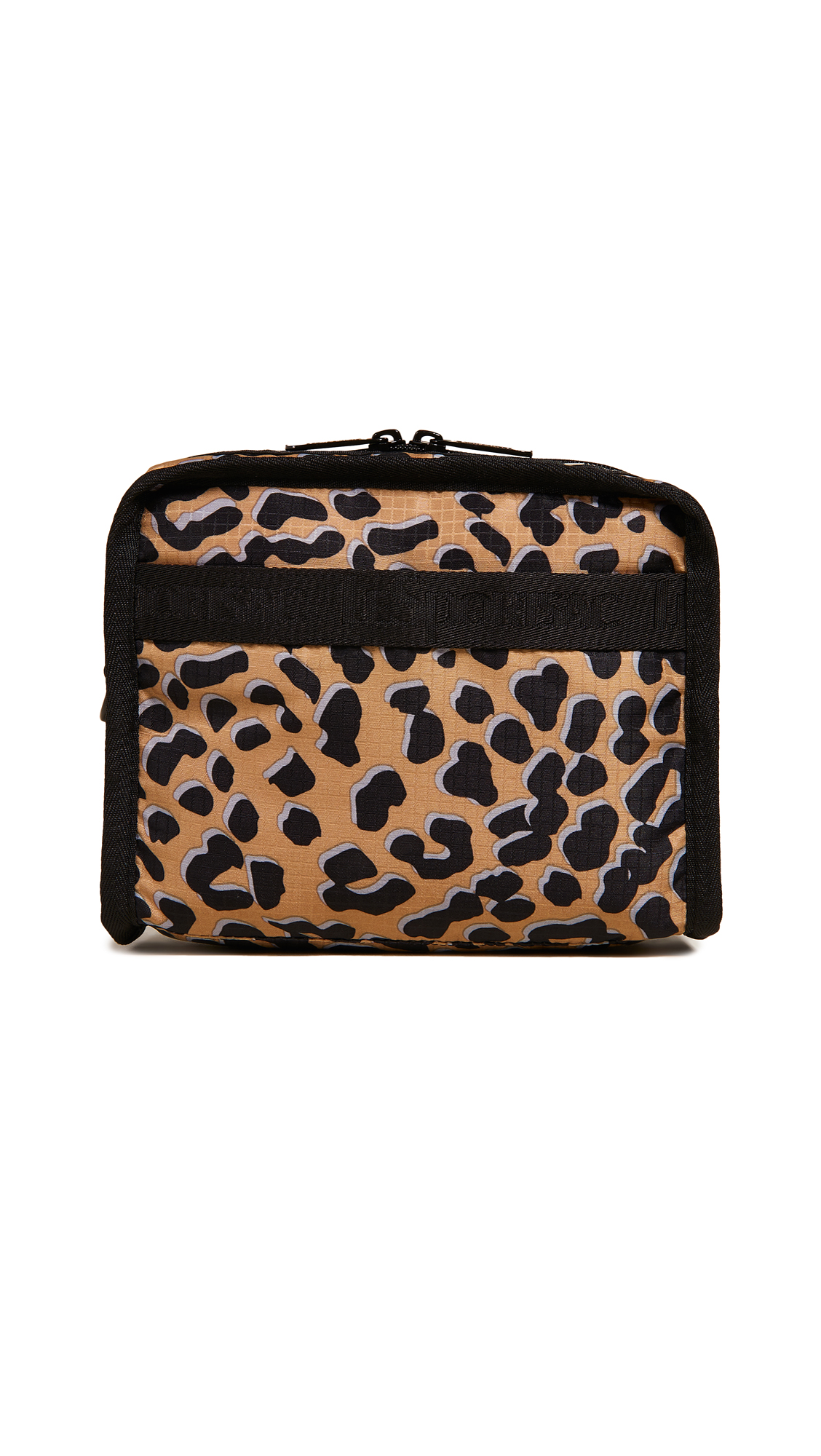 Taylor North / South Cosmetic Bag, Leopard